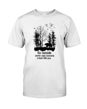 Go Outside Camping Classic T-Shirt front