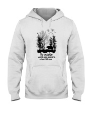 Go Outside Camping Hooded Sweatshirt thumbnail