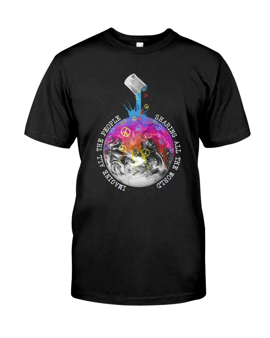 Sharing All The World Classic T-Shirt