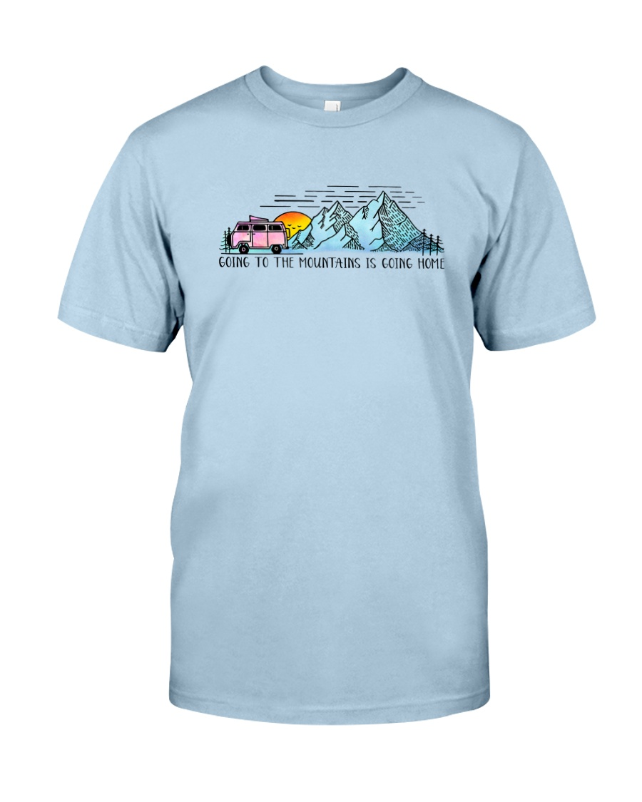 Going To The Mountains Classic T-Shirt showcase