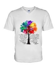 And I Think To Myself V-Neck T-Shirt thumbnail