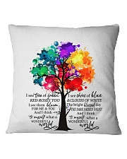 And I Think To Myself Square Pillowcase thumbnail