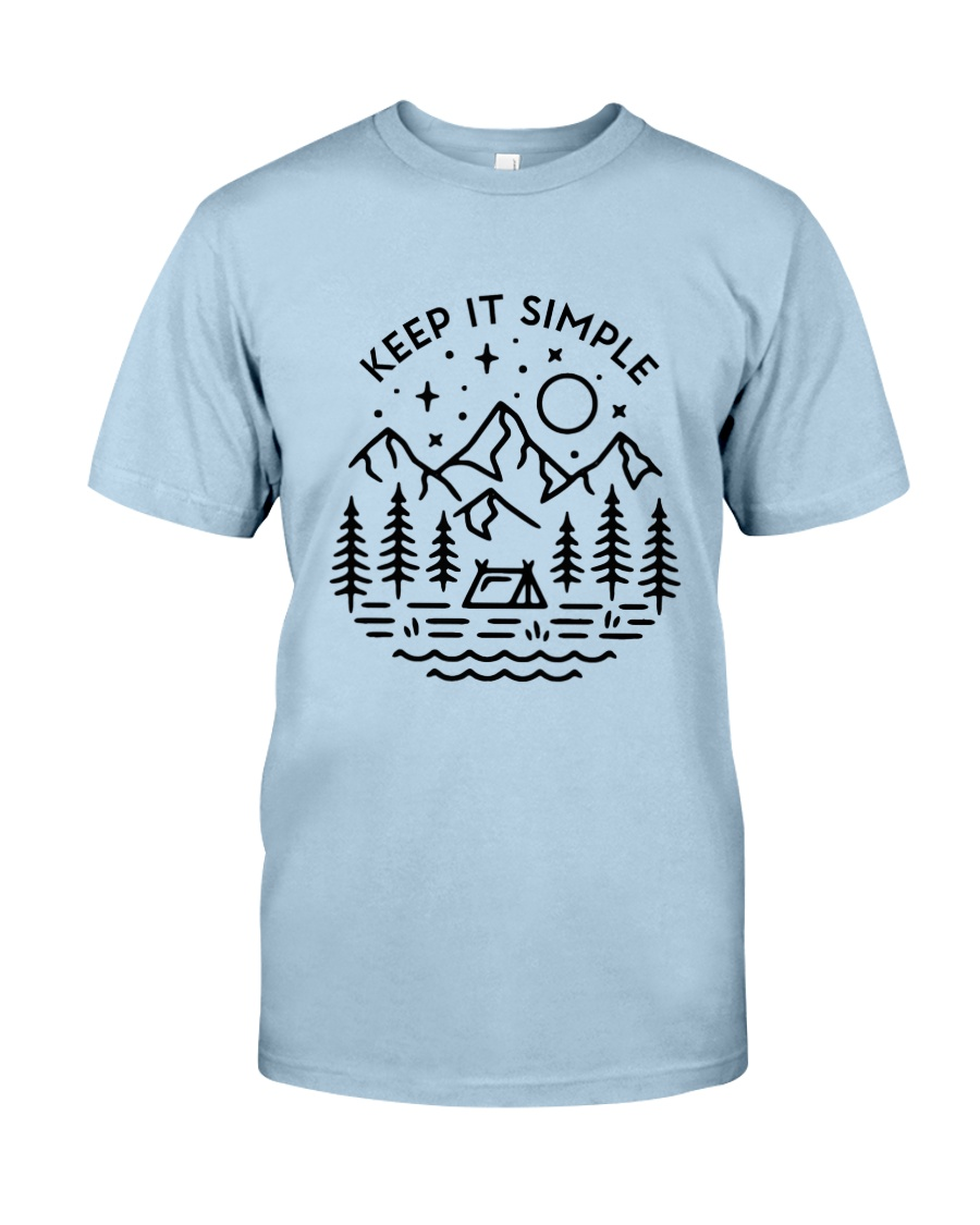Keep It Simple Classic T-Shirt showcase