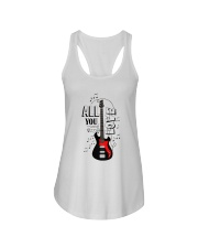 All You Need Is Love Ladies Flowy Tank tile
