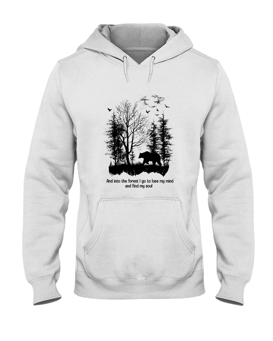 And Into The Forest Hippie  Hooded Sweatshirt showcase