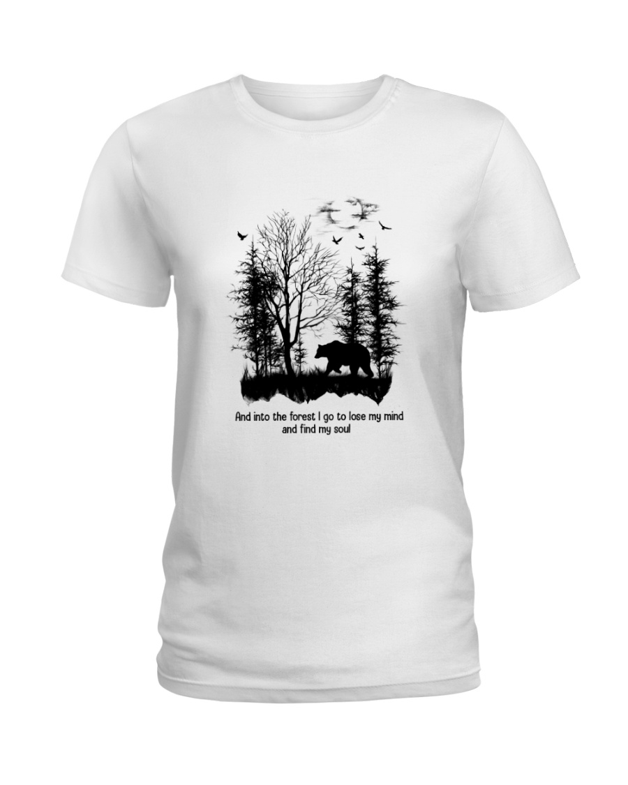 And Into The Forest Hippie  Ladies T-Shirt