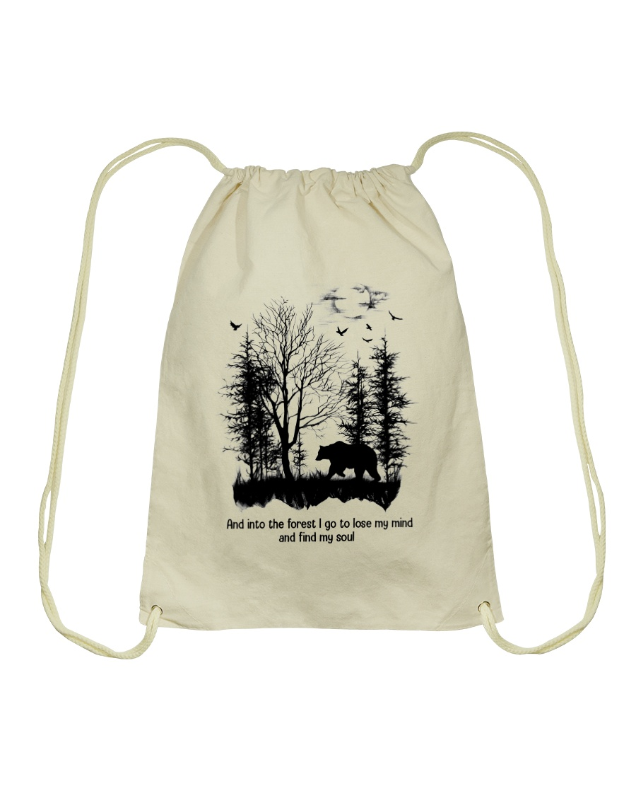 And Into The Forest Hippie  Drawstring Bag