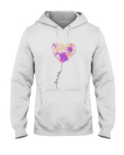 Let It Be Peace Flowers Hooded Sweatshirt thumbnail