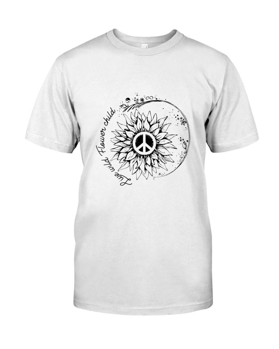 Live Wild Flower Child Classic T-Shirt