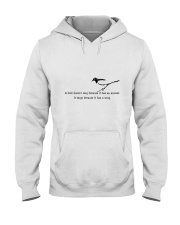 A Bird Sing A Song Hooded Sweatshirt thumbnail