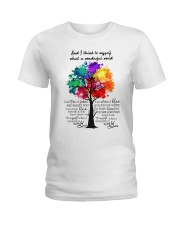 And I Think To Myself  Ladies T-Shirt thumbnail