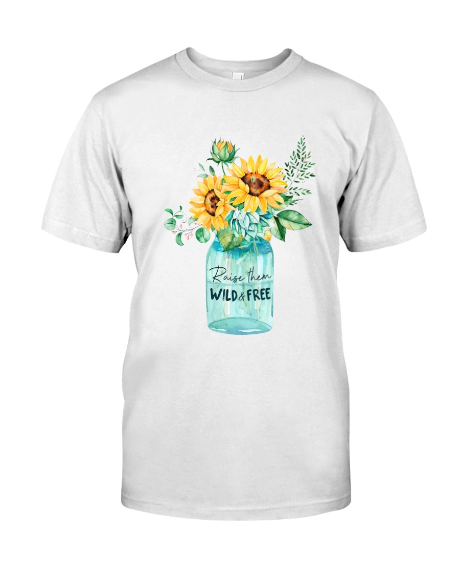 Raise Them Wild And Freedom Classic T-Shirt