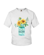 Raise Them Wild And Freedom Youth T-Shirt thumbnail