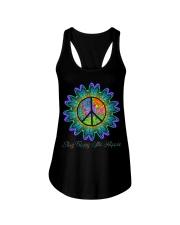 Stay Trippy Little Hippie Ladies Flowy Tank thumbnail