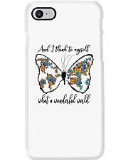 Myself What A Wonderful World Phone Case thumbnail