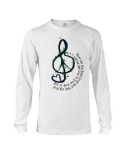 Rock And Roll Peace Love Music Hippie  Long Sleeve Tee thumbnail