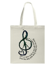 Rock And Roll Peace Love Music Hippie  Tote Bag thumbnail