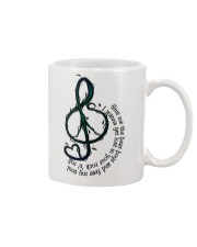 Rock And Roll Peace Love Music Hippie  Mug tile