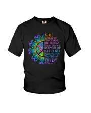 She Dances To The Songs Youth T-Shirt thumbnail