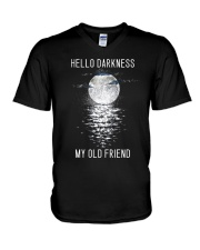 Hello Darkness My Old Friend V-Neck T-Shirt thumbnail