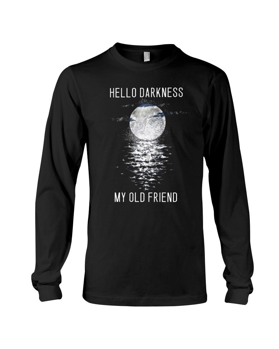 Hello Darkness My Old Friend Long Sleeve Tee