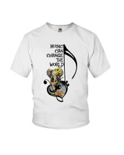 Music Can Change The World Youth T-Shirt thumbnail