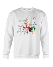 What Feelings Sound Like Crewneck Sweatshirt thumbnail