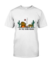 On The Road Again Classic T-Shirt front