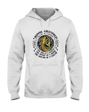 Hippie Grandma Hooded Sweatshirt front