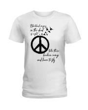 BlackBird Singing Hippie Ladies T-Shirt front