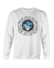 When The Night Is Cloudy Crewneck Sweatshirt thumbnail