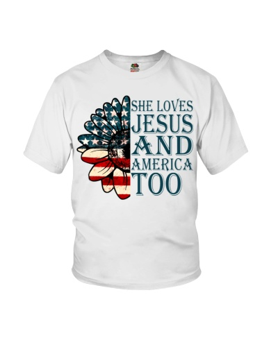 She Loves Jesus And A Merica Too