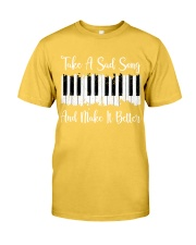 Take A Sad Song Classic T-Shirt front