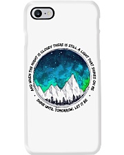 When The Night Is Cloudy Phone Case thumbnail