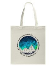 When The Night Is Cloudy Tote Bag thumbnail