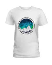 When The Night Is Cloudy Ladies T-Shirt thumbnail
