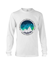 When The Night Is Cloudy Long Sleeve Tee thumbnail