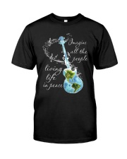 All The People Living In Peace Classic T-Shirt thumbnail