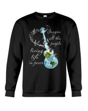 All The People Living In Peace Crewneck Sweatshirt thumbnail