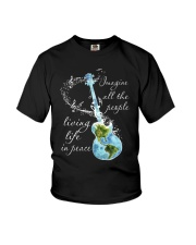 All The People Living In Peace Youth T-Shirt thumbnail