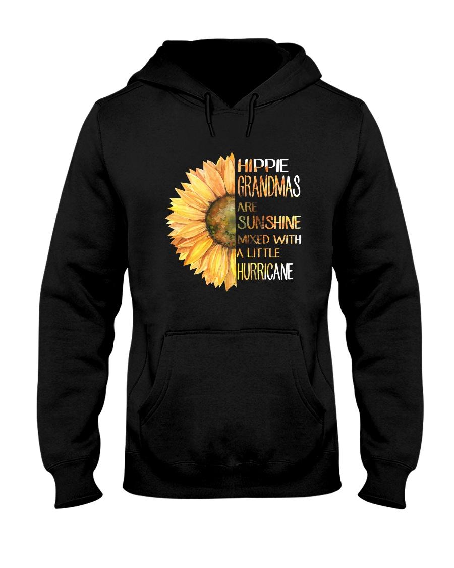 Hippie Grandma Hooded Sweatshirt