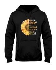 Hippie Grandma Hooded Sweatshirt front