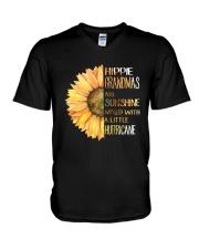 Hippie Grandma V-Neck T-Shirt thumbnail