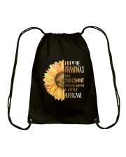 Hippie Grandma Drawstring Bag thumbnail