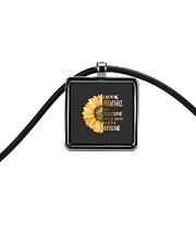 Hippie Grandma Cord Rectangle Necklace thumbnail