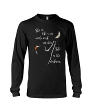 She Is Like A Cat In The Dark Long Sleeve Tee thumbnail