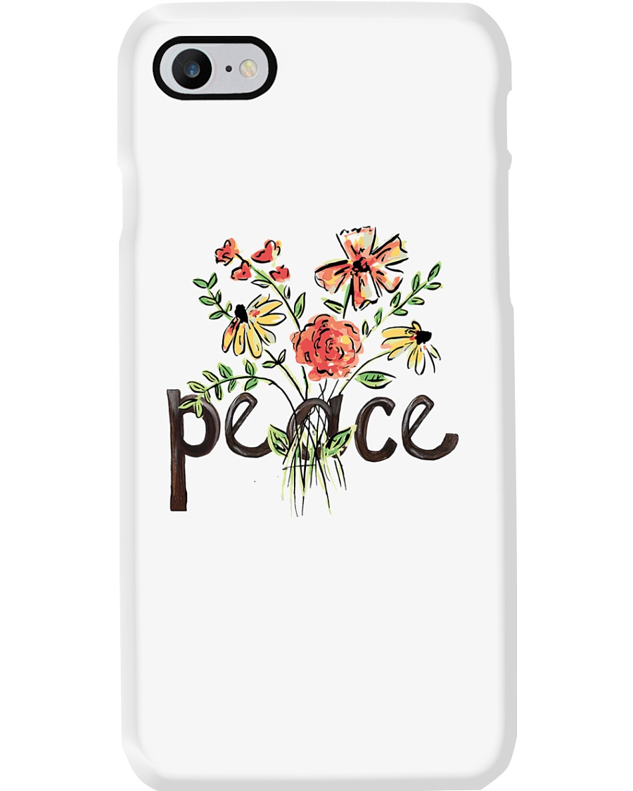 Peace Flowers Hippie  Phone Case