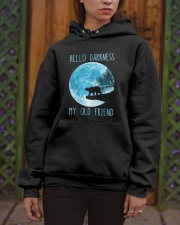 Hello Darkness My Old Friend Hooded Sweatshirt apparel-hooded-sweatshirt-lifestyle-front-03