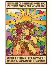 What A Wonderful World 11x17 Poster front