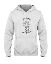 You Belong Among The Wildflowers Hippie  Hooded Sweatshirt thumbnail